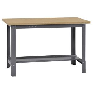 34 In. H X 48 In. W X 24 In. D Wooden Top