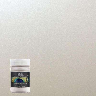 6 oz. Oyster Metallic Interior Paint