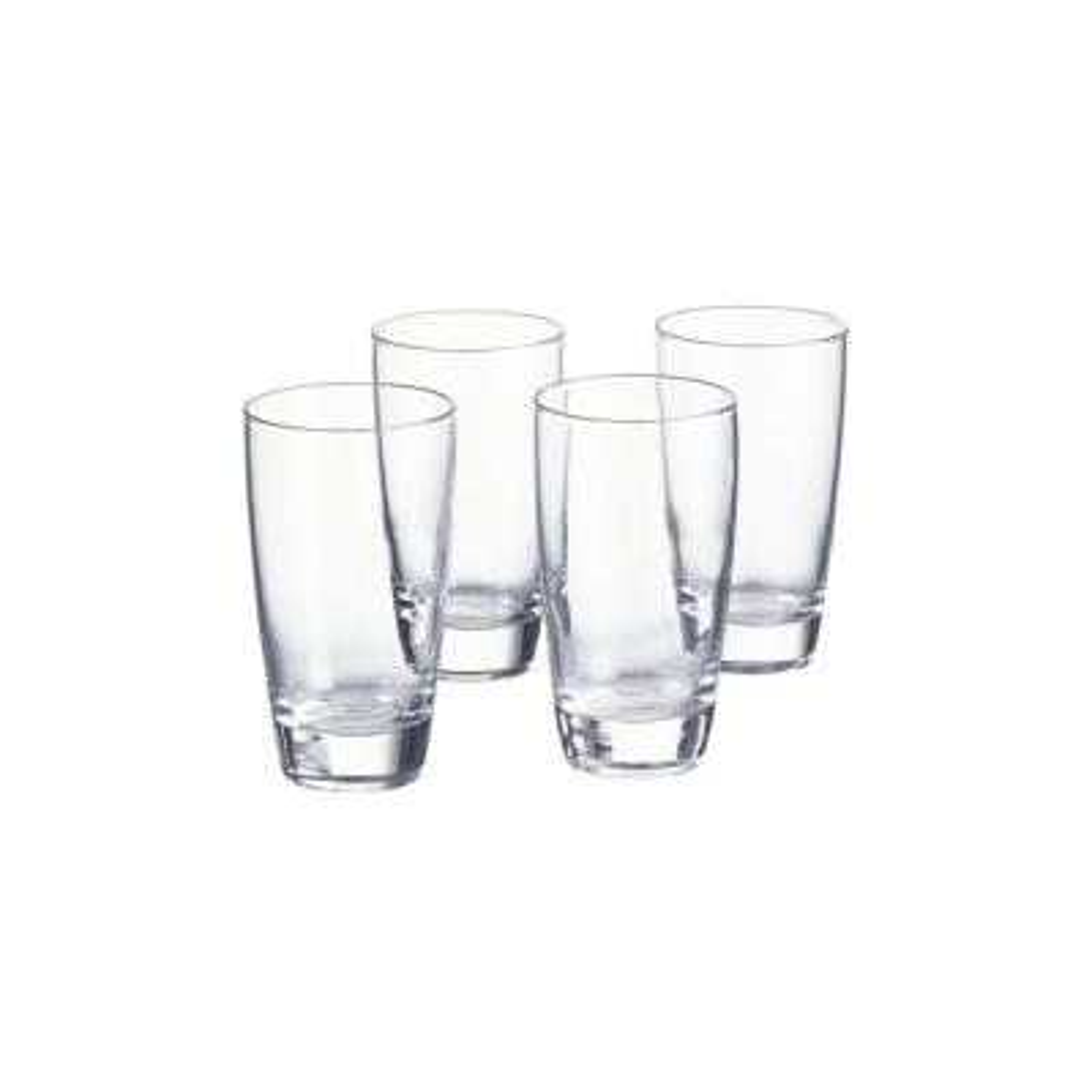 Egerton 15 fl. oz. Glass Tumblers (Set of 4)