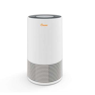 Premium True HEPA Tower Air Purifier in White