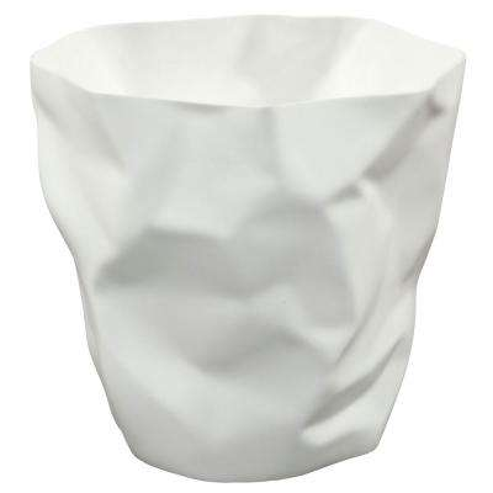 Lava 5 Gal. White Trash Bin
