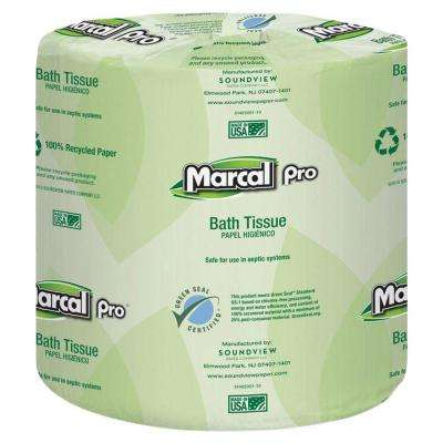 4.30 in. x 3.66 in. 2-Ply White Bath Tissue