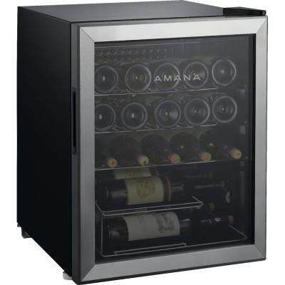 25-Bottle Wine Cooler with Mechanical Temperature Control