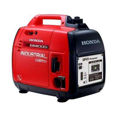 Industrial 2,000-Watt Gasoline Inverter Generator with GFCI Protection