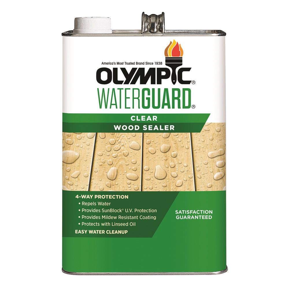 Olympic Waterguard 1 gal  Clear Wood Sealer