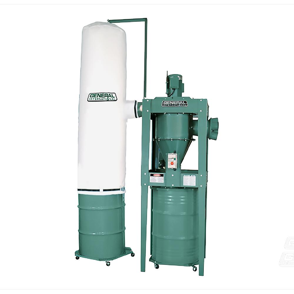 General International 3 Hp 2 Stage Industrial Dust Collector 10 810 M1 The Home Depot