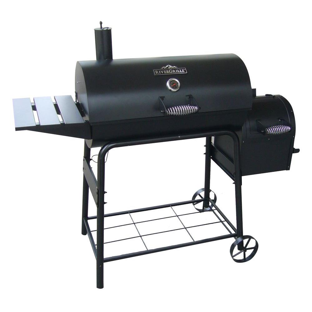 29 Quot Charcoal Grill And Smoker Rivergrille Cattleman