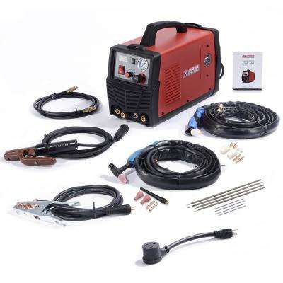 Plasma Cutter/TIG/Stick Arc 3-in-1 Combo DC Welder 30A-Plasma Cutter, 160A-TIG-Torch, 140A-Stick Arc Welding Machine