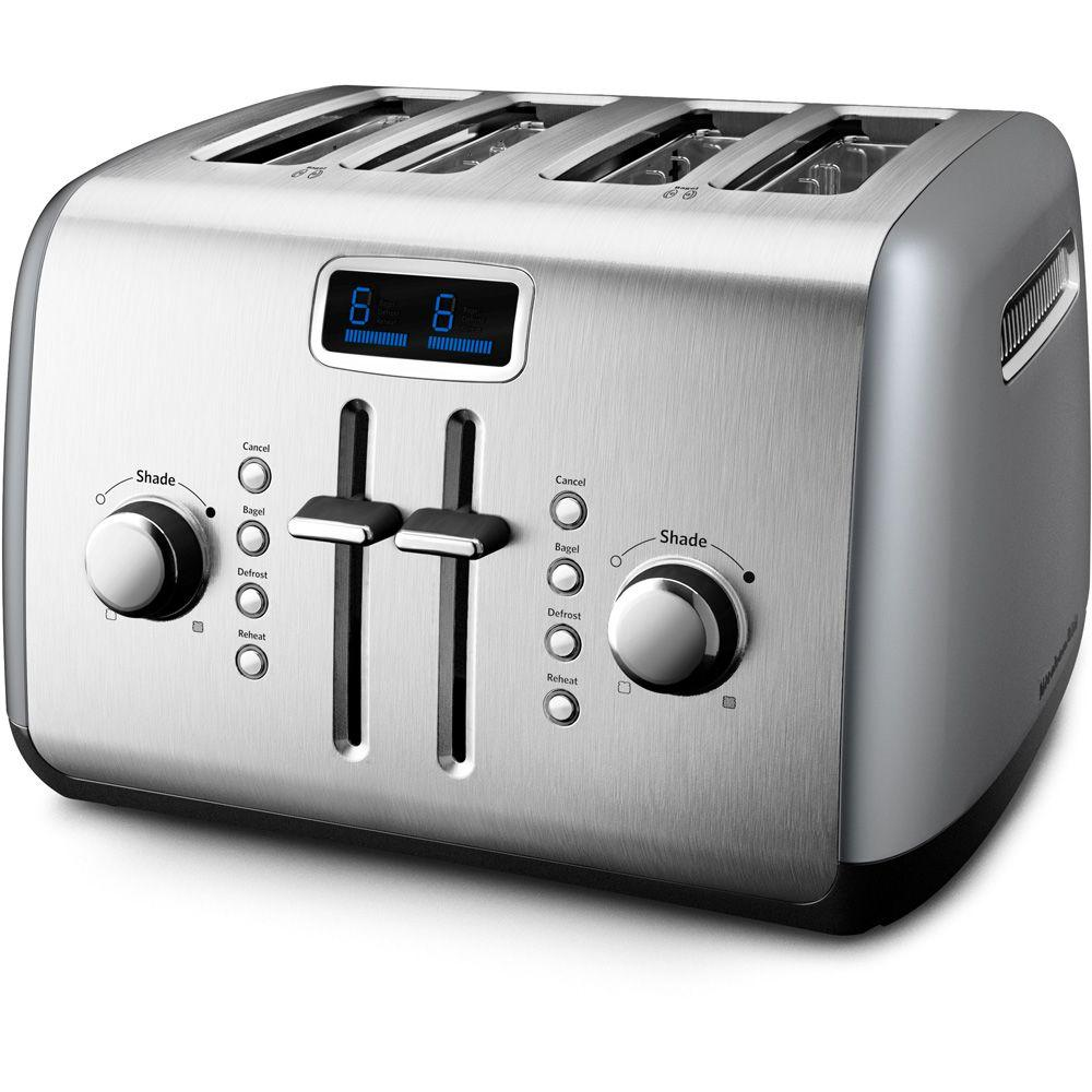 KitchenAid 4-Slice Toaster in Contour Silver-DISCONTINUED