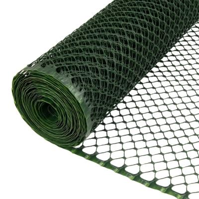 3/4 in. x 3 ft. x 25 ft. Green PVC Poultry Fence