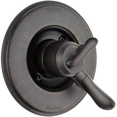 Linden Monitor 17 Series 1-Handle Volume and Temperature Control Valve Trim Kit in Venetian Bronze (Valve Not Included)