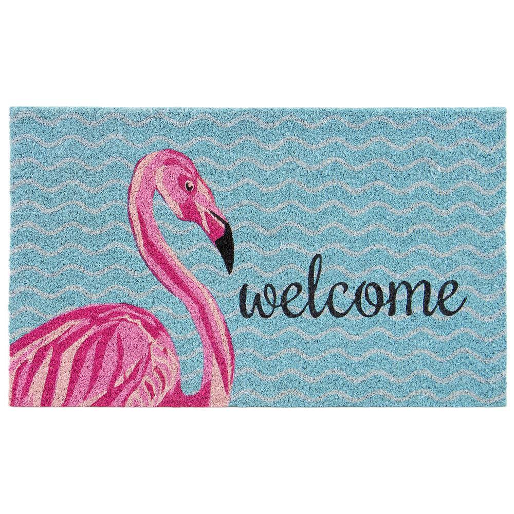 Trafficmaster Pink Lady Flamingo Multi 18 In X 30 In