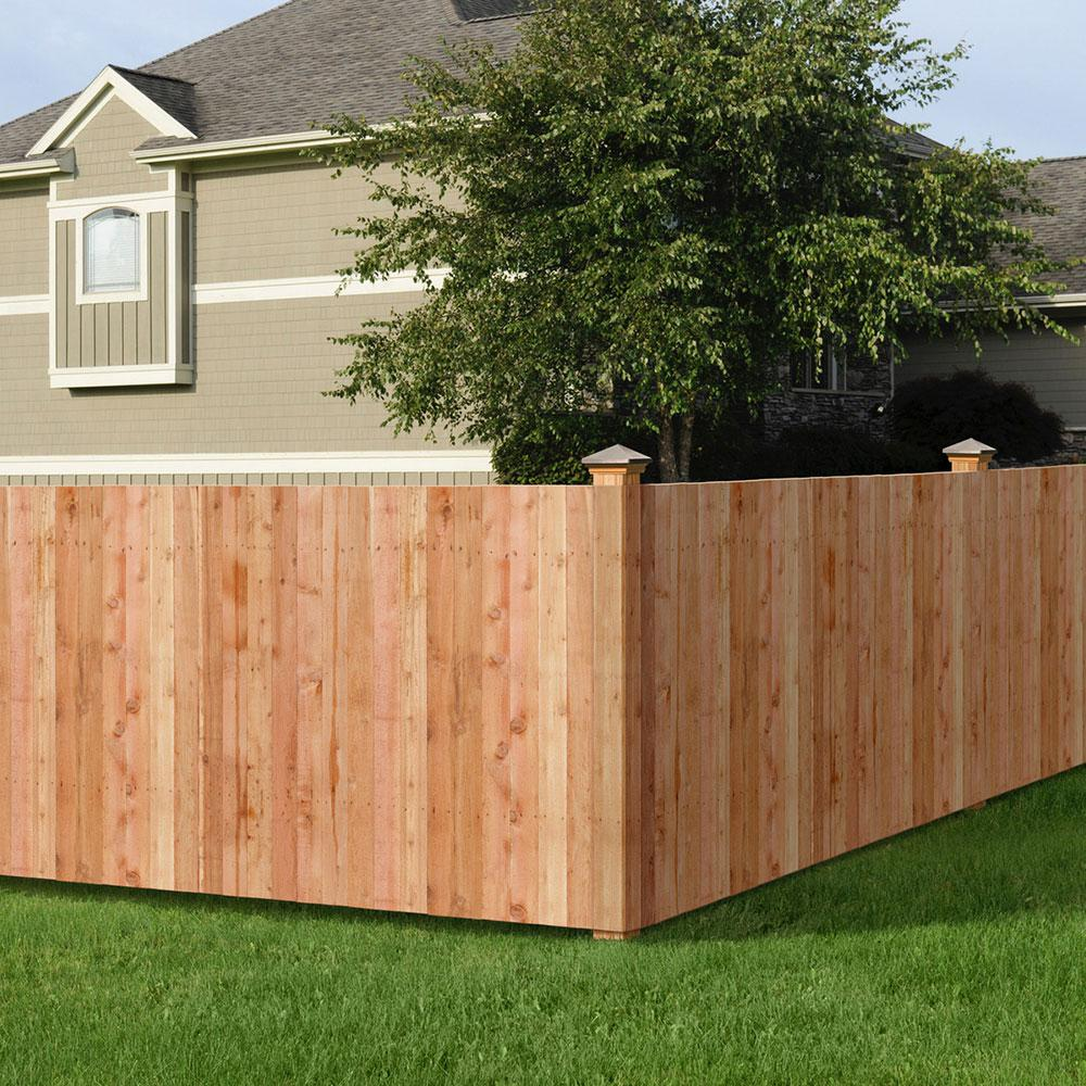 8 ft privacy fence