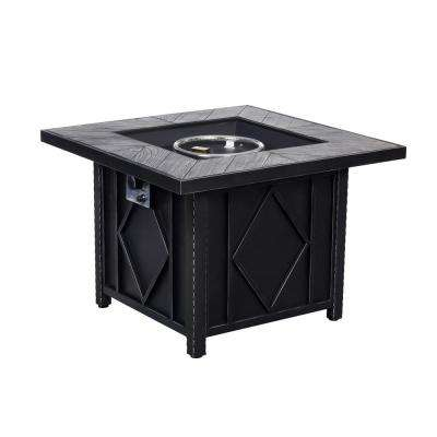 35 in. Square Gas Fire Pit