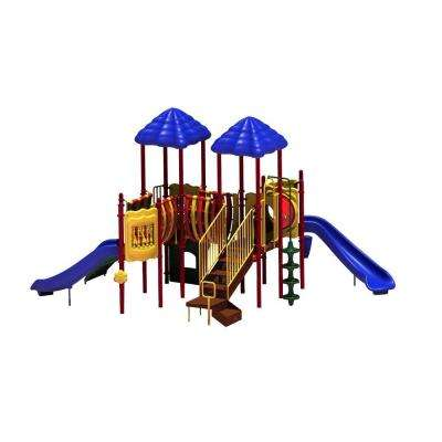 UPlay Today Pike's Peak (Playful) Commercial Playset with Ground Spike