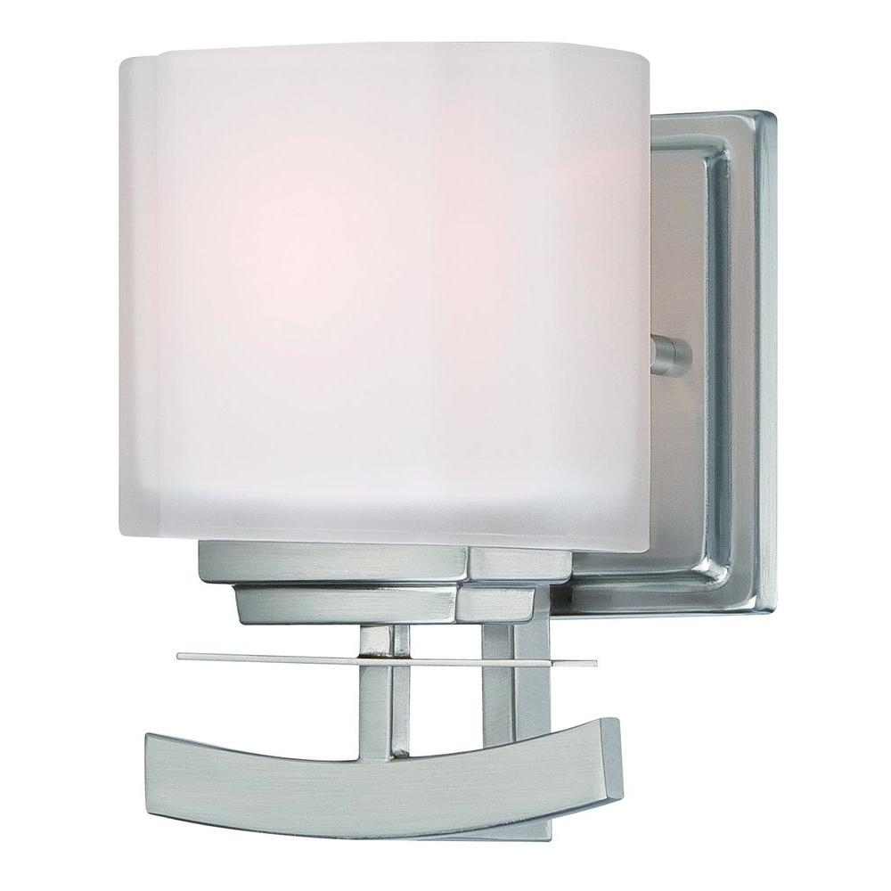 Architecture 1 Light Brushed Nickel Sconce