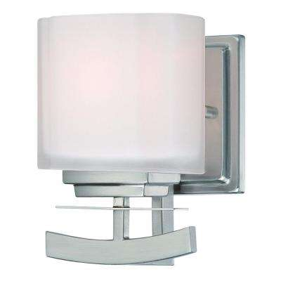 Architecture 1-Light Brushed Nickel Sconce