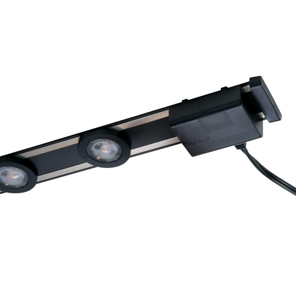 Led Black Under Cabinet Puck Light Kit