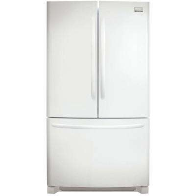27.6 cu. ft. Non-Dispenser French Door Refrigerator in Pearl