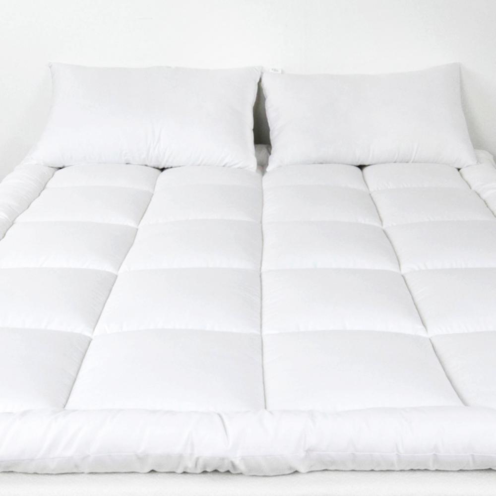 angeland queen size 2 in microplush mattress topper