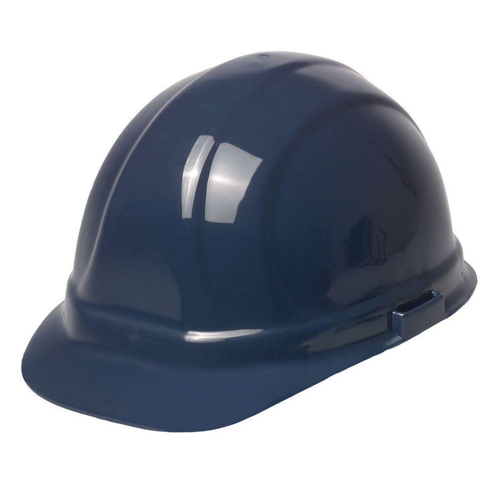 bda20b2cb2e Omega II 6 Point Suspension Nylon Mega Ratchet Cap Hard Hat in Dark Blue