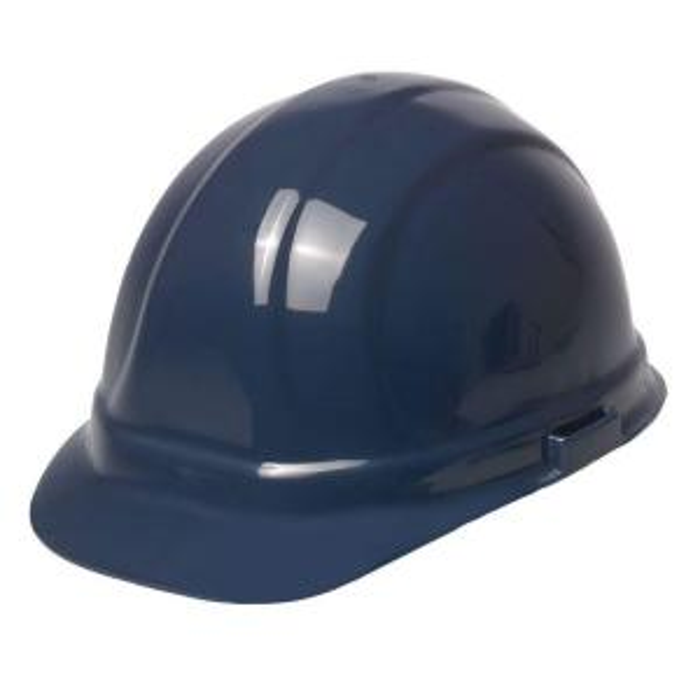 ERB Omega II 6 Point Suspension Nylon Mega Ratchet Cap Hard Hat in Dark Blue by ERB
