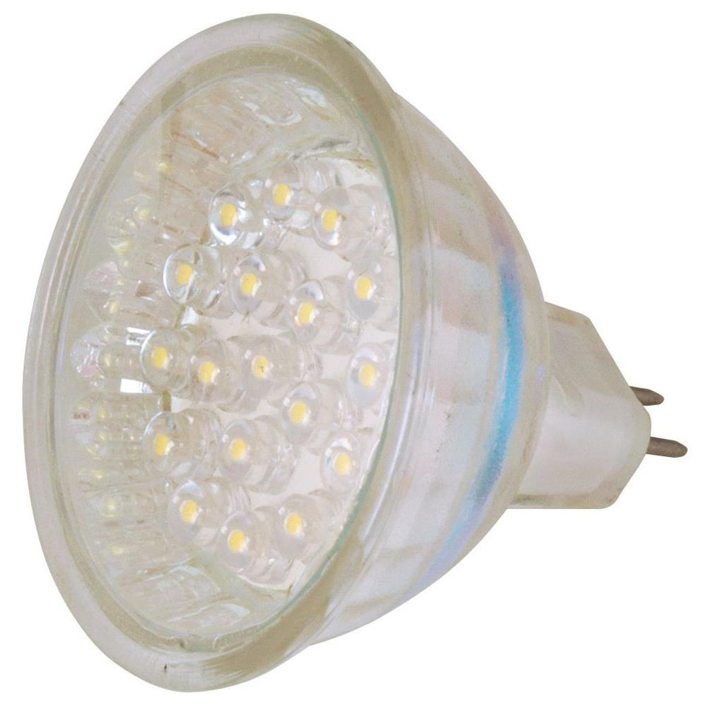 Moonrays Clear Glass Low Voltage 1.8-Watt MR-16 LED Landscape Lighting Replacement Bulb