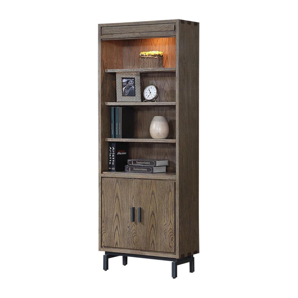 Fremont Toffee Door Bookcase
