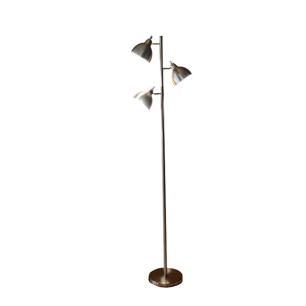 Alsy 68 in. Brushed Nickel Track Tree Floor L&-20027-000 - The Home Depot  sc 1 st  The Home Depot & Alsy 68 in. Brushed Nickel Track Tree Floor Lamp-20027-000 - The ... azcodes.com