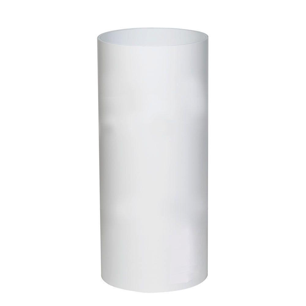 24 in. x 50 ft. PVC Colonial White Trim Coil