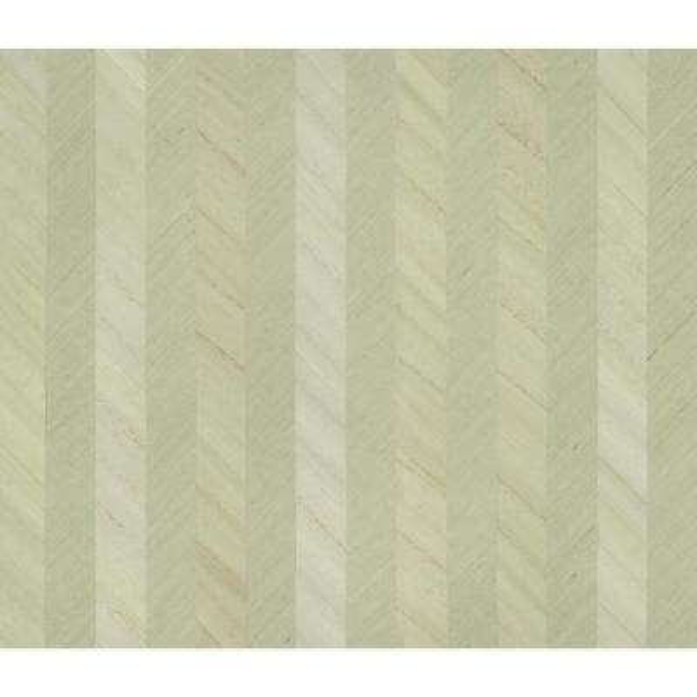 Ronald Redding Designs Stripes Resource Grass/Wood Stripe Wallpaper