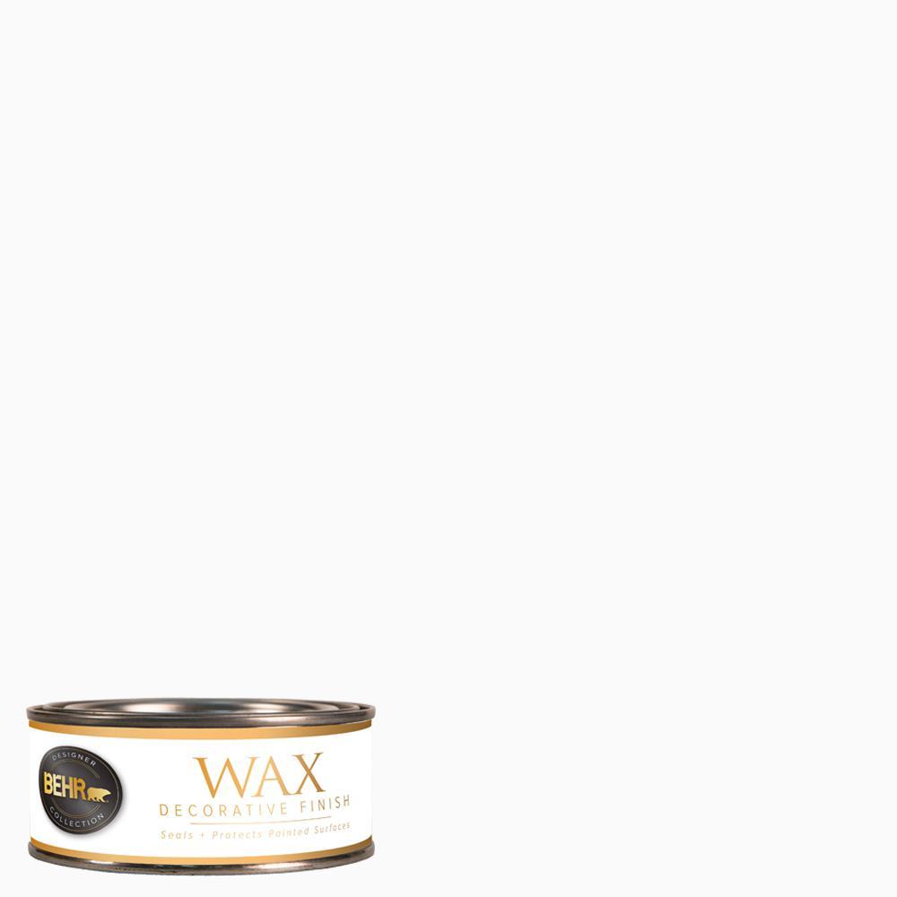 BEHR 8 oz. White Interior Chalk Decorative Wax
