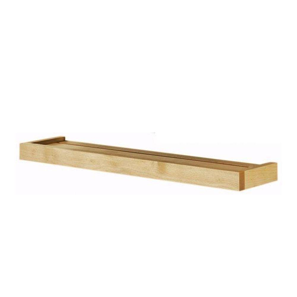 Home Decorators Collection 36 in. x 5.25 in. Natural Euro Floating Wall Shelf