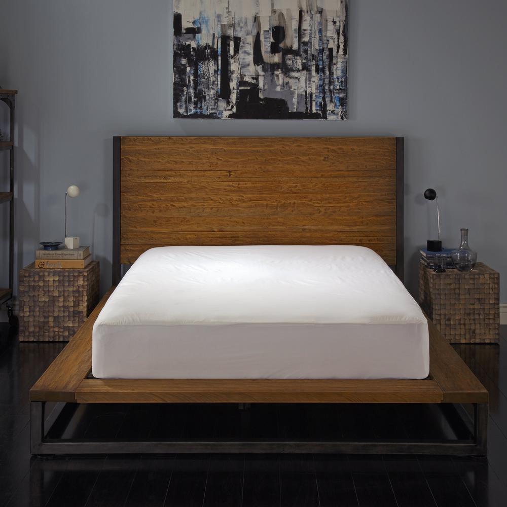 Vinyl Free and Hypoallergenic Twin Maximum Allergy and Bedbug Waterproof