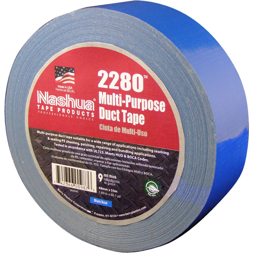 1.89 in. x 60.1 yds. 2280 Multi-Purpose Duct Tape in Blue
