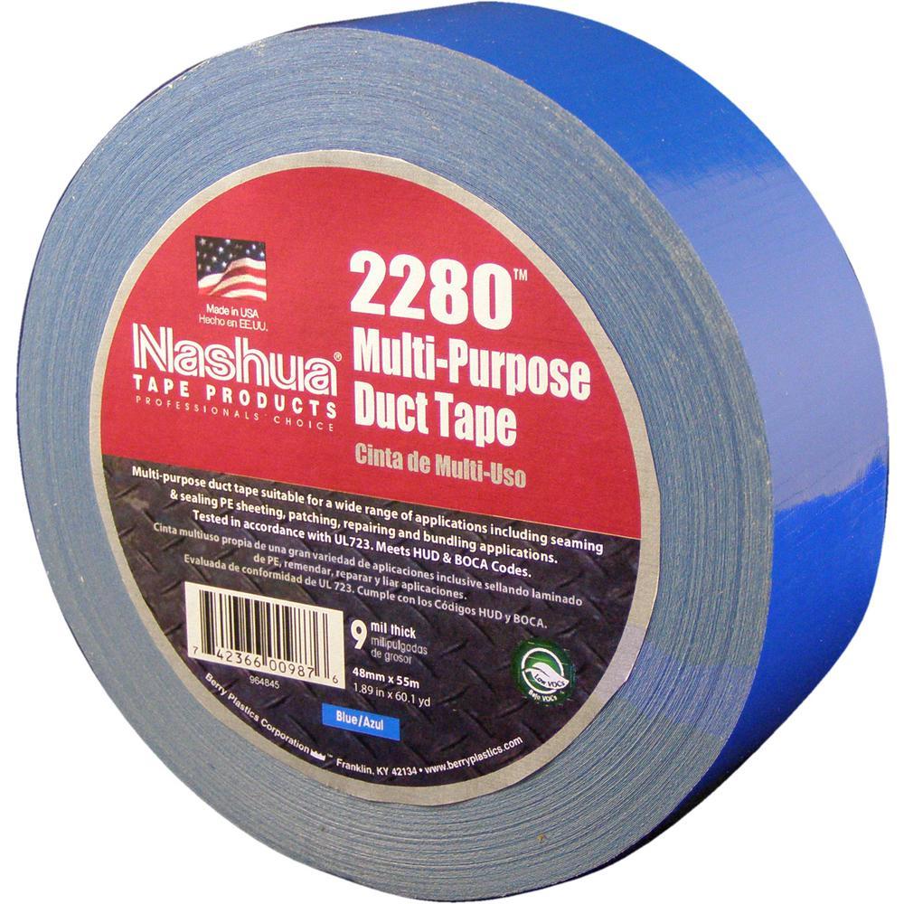 Nashua Tape 1 89 In X 50 Yd 322 Multi Purpose Hvac Foil
