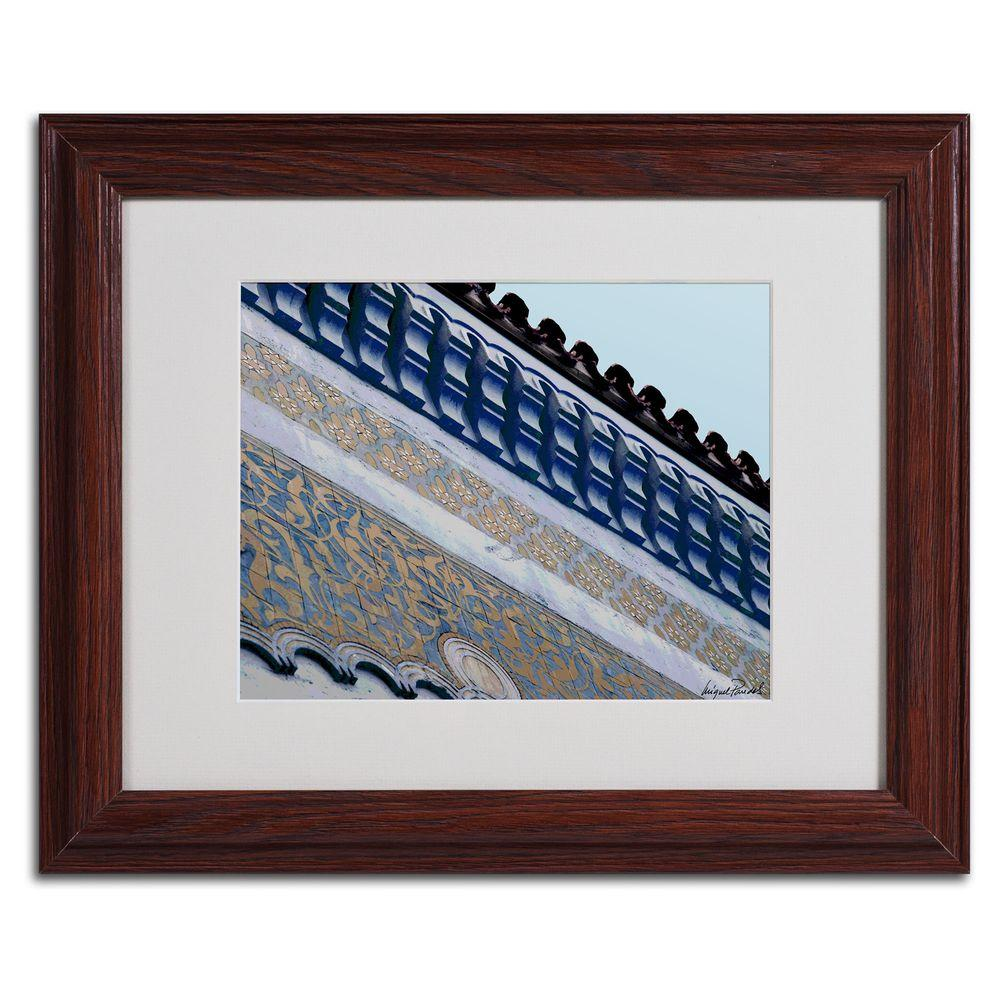 Trademark Fine Art 11 in. x 14 in. Rooftop Matted Framed Art