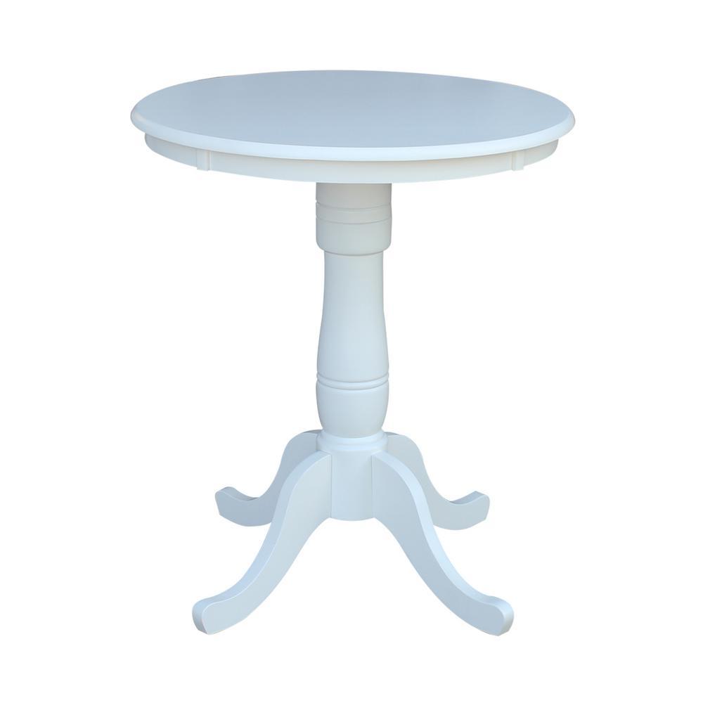 Round - White - Kitchen & Dining Tables - Kitchen & Dining ...