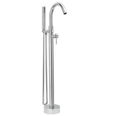 Belanger Single-Handle Freestanding Tub Faucet with Hand Shower in Polished Chrome