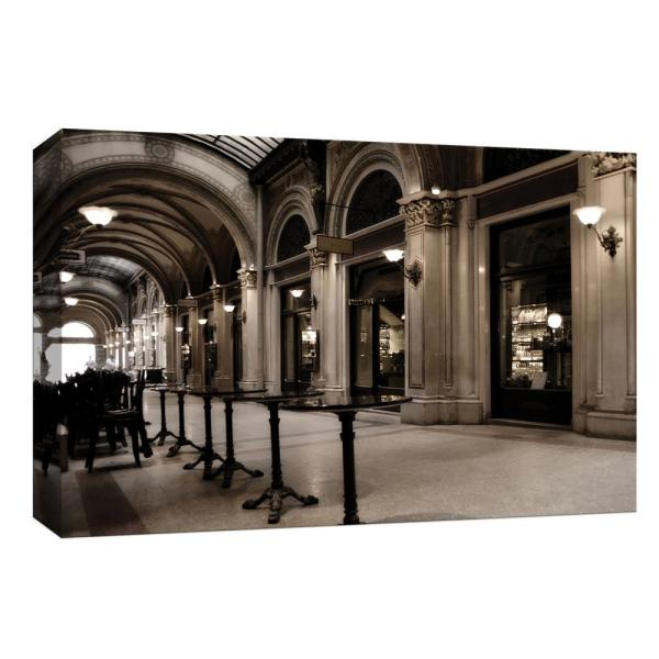 10 in  x 12 in  ''In the City of Vienna'' By PTM Images Canvas Wall Art