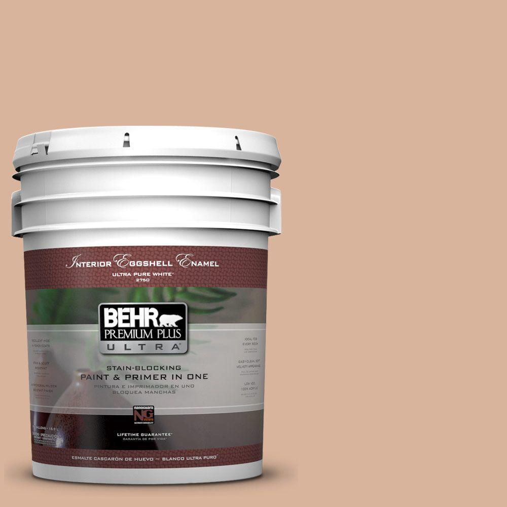 BEHR Premium Plus Ultra 5-gal. #S230-3 Beech Nut Eggshell Enamel Interior Paint