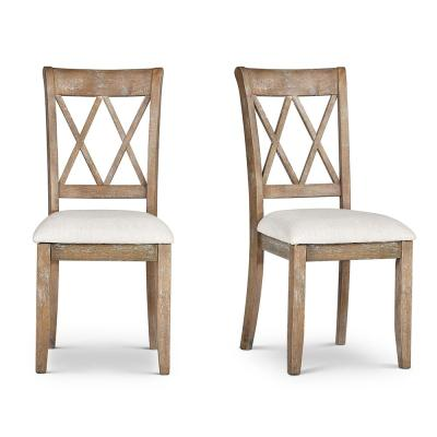 Franco Natural Dining Chairs (Set of 2)