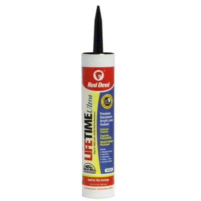 Lifetime Ultra 10.1 oz. Black Acrylic Latex Caulk