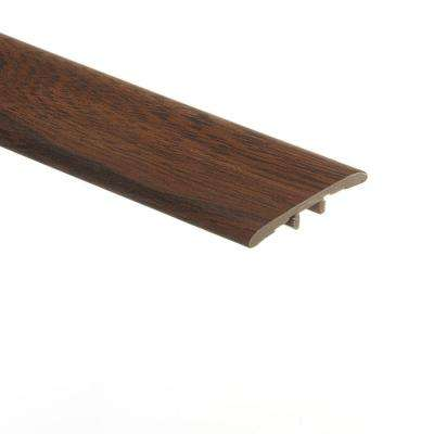 Country Walnut 5/16 in. Thick x 1-3/4 in. Wide x 72 in. Length Vinyl T-Molding