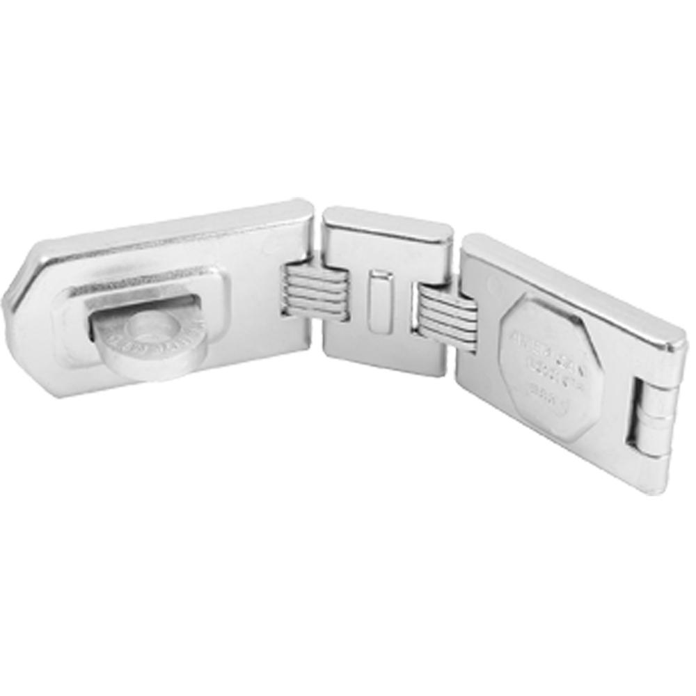 Master Lock 7-3/4 in. L (19.7 mm) Double Hinge HASP
