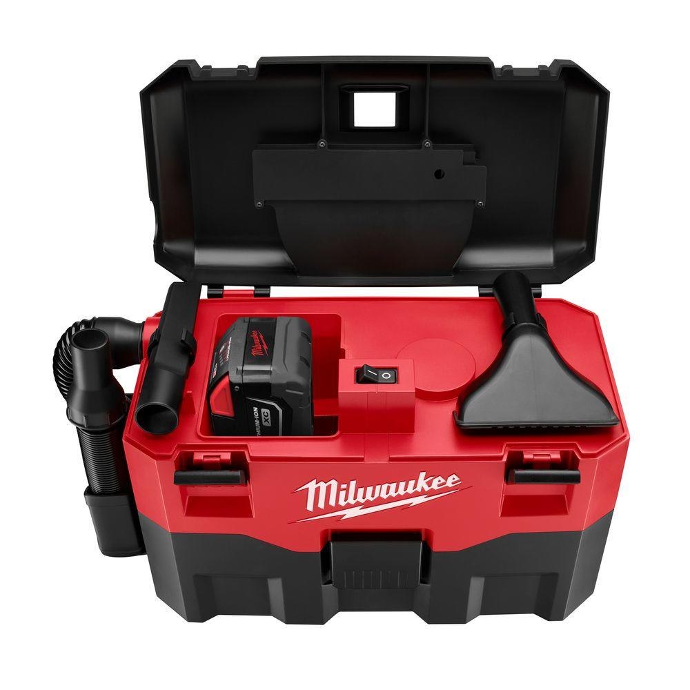 Milwaukee M28 2 gal. 28-Volt Lithium-Ion Cordless Wet/Dry Vacuum (Tool-Only)