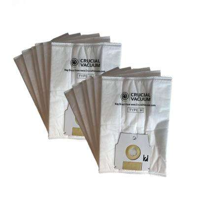 Replacement H HEPA Style Cloth Bags (12-Pack) Fits Simplicity, Compatible with Part SHH-6