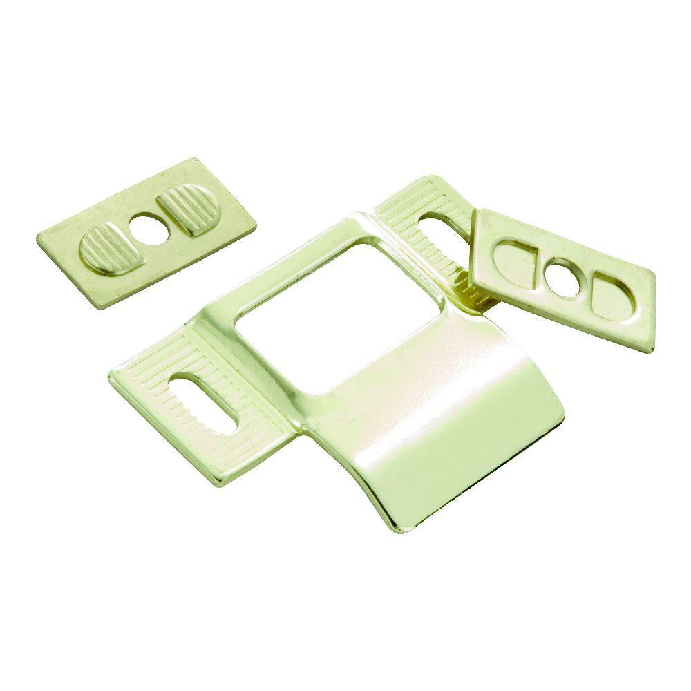 Polished Brass Adjustable Door Strike