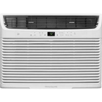 12,000 BTU 115-Volt Window-Mounted Compact Air Conditioner with Temperature Sensing Remote Control