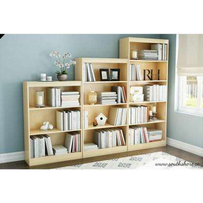 Axess Natural Maple Open Bookcase